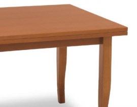 Tavolo arte povera tavolo in legno di faggio ribaltabile disponibile in due dimensioni - Tavolo allungabile arte povera ...