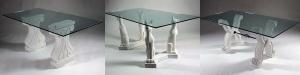 Tavoli marmo stile classico