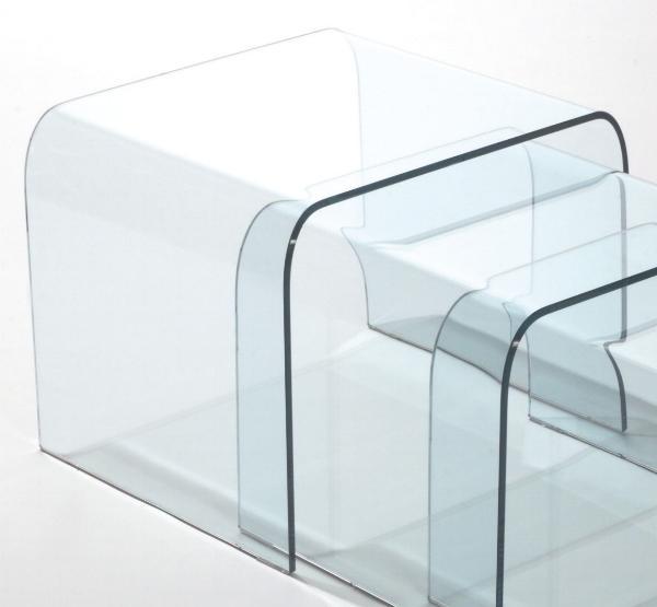 Tavolino da salotto tavolo tavolini in cristallo tavoli for Balconiere ikea