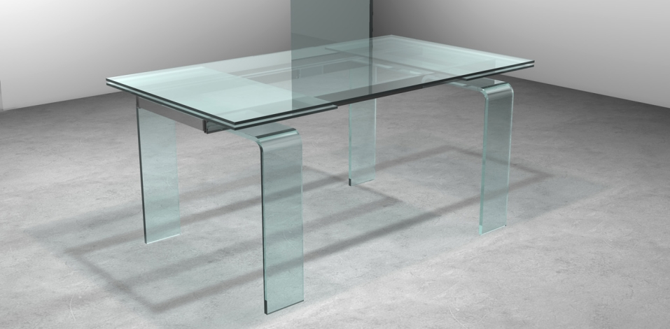 Casa moderna roma italy tavoli allungabili in vetro prezzi for Tavoli allungabili calligaris prezzi