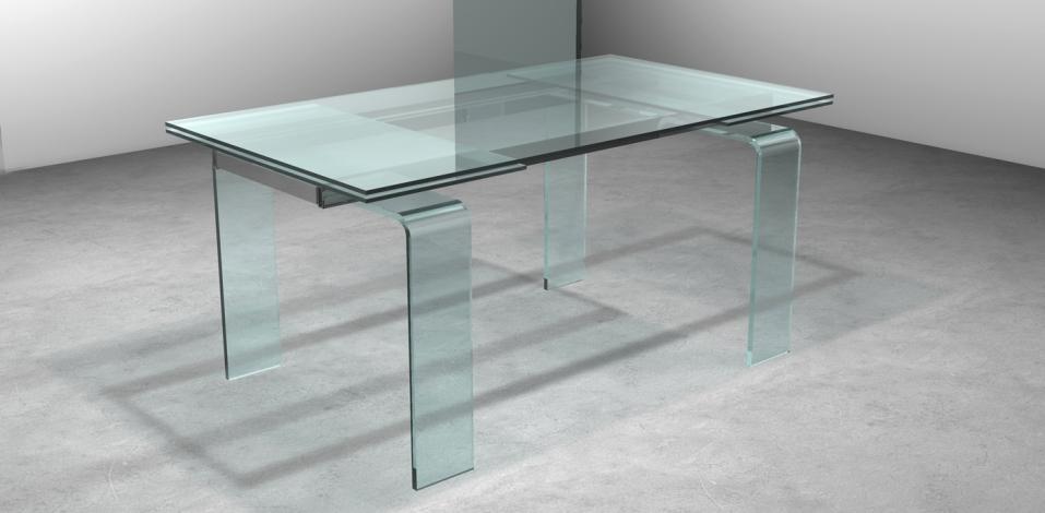 Tavolo ovale in vetro affordable tavolo ovale allungabile for Tavolo ovale allungabile vetro