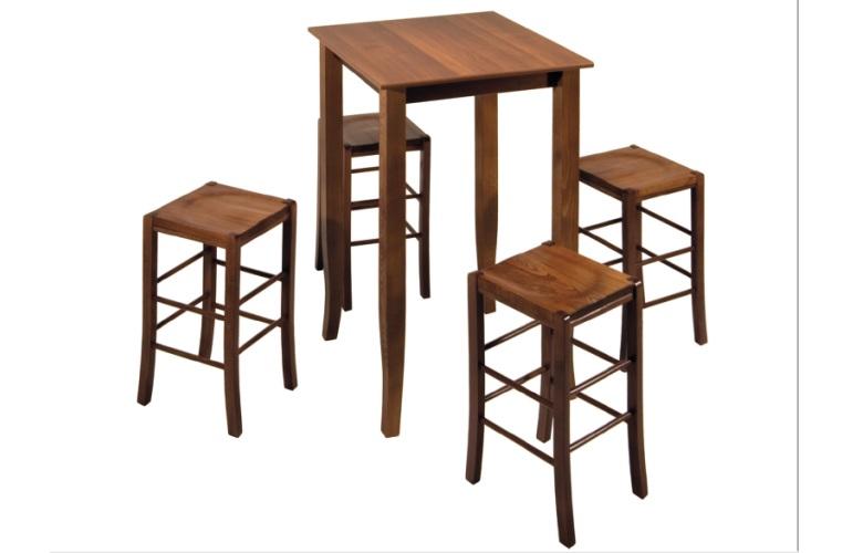 Tavolo in legno vendita tavoli legno gambe legno massello - Tavolini da bar prezzi ...