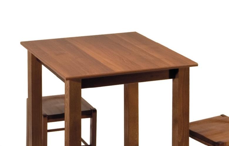 Tavolo da bar nola in legno con altezza variabile - Tavoli da fumo in legno ...