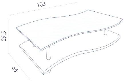 Tavoli tavolini in legno tavolo gaia tavoli tavolini in for Gaia case in legno