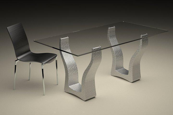 Tavolo in marmo 647 tavolo in agglomerato di marmo for Tavolo effetto marmo