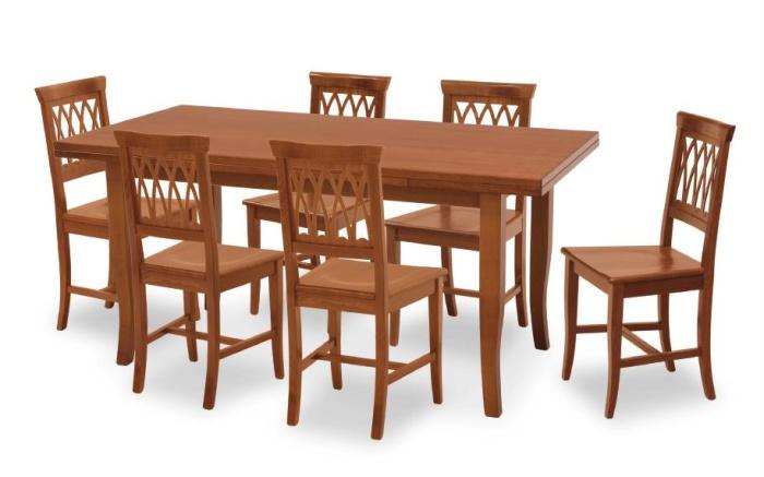 Tavolo in legno di faggio allungabile tavolo arte povera for Tavolo allungabile in legno