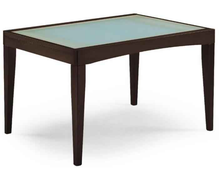Il tavolo piano vetro da cucina in legno davos for Tavolo cucina vetro