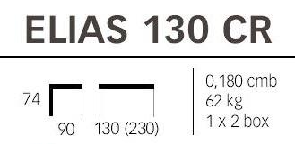 Dimensioni tavolo Elias