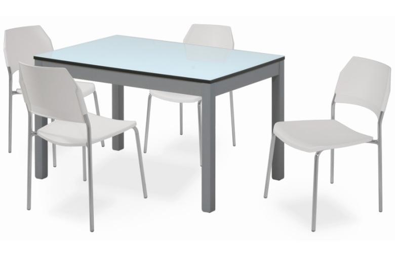 Tavolo da cucina in legno urano for Tavolo da cucina piccolo allungabile