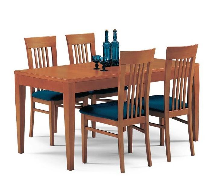 Tavolo allungabile ciliegio moderno tavolo rotondo piccolo ...