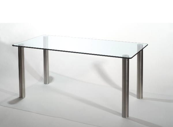 Tavolo in cristallo tavolo stell tavolo in cristallo for Tavolo di cristallo