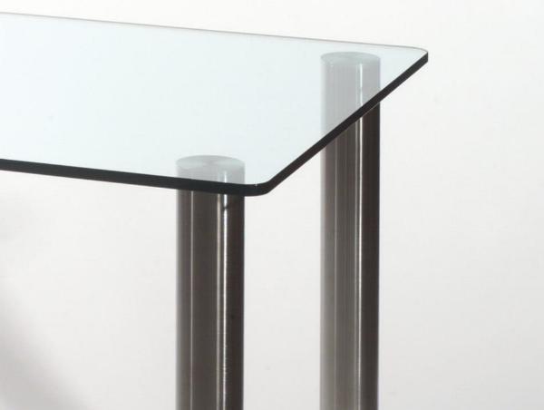 Tavolo in cristallo. Tavolo Stell Tavolo in cristallo temperato ...