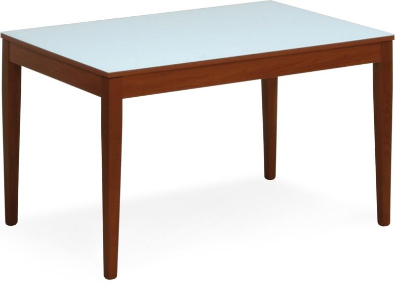 tavoli cucina in legno con piano in vetro allungabili. - Tavolini Da Cucina